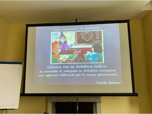 Lucca educational, il primo seminario.